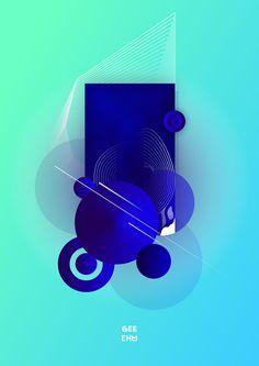 Circles illustration on Behance