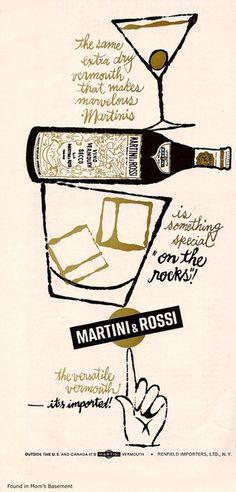 Martini & Rossi vintage ad