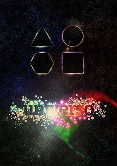 Universo #universe #color #space #cosmos #poster #morph #universo #typography
