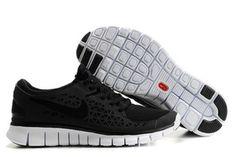 Nike Free Run Black Black-Mens #shoes