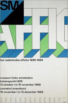 Flyer Design Goodness - A flyer and poster design blog: Wim Crouwel - selected graphic designs and prints from museum archive #lettering #illustration #poster #type #typography