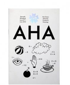 AHA | Hato Press #cover #book #brochure