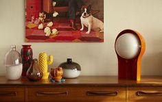 IKEA vintage table lamp @ creepy family