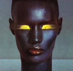 grace jones photograph