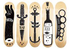 BAKN DECK DESIGN #deck #illustration #design