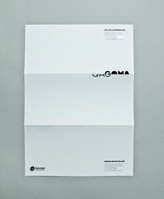 QAGOMA #letterhead #identity #branding #stationery