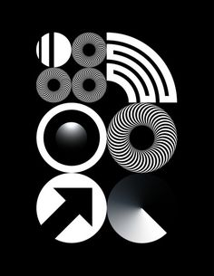 #design #graphicdesign #poster #geometric #circle #circles #black #white #illustration #minimal #minimalism