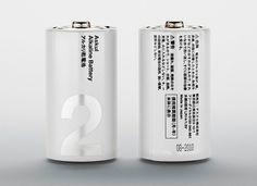 Visual Journal #askul #silver #battery