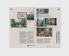 5 BRGHS Magazine on Behance #layout #magazine #newspaper
