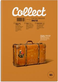 A. | artunion: Beautiful Collect Magazine Cover #magazine #typography