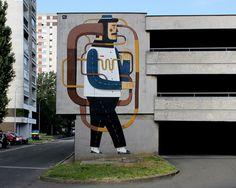 Agostino Lacurci #streetart