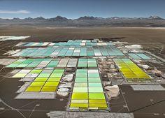 Lithium Mines #1 Salt Flats, Atacama Desert, Chile, 2017