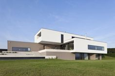 Residence Featuring Stacked Layers Feels Neat and Tidy: House P in Austria