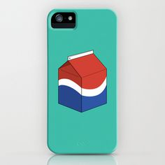 Pepsi in a box iPhone Case by AGRIMONY // Aaron Thong | Society6 #milk #iphone #cover #pepsi