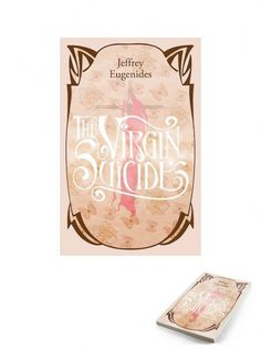 portada the virgin suicides | Flickr - Photo Sharing! #nouveau #design #book #illustration #art