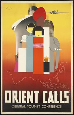 All sizes | Orient calls | Flickr Photo Sharing! #travel #poster