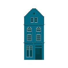 House from Greater Grassmarket logo. By Eighthdaydesign.com #illustration #vector #house