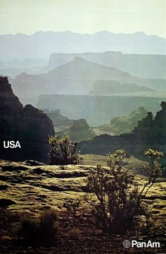Pan Am Posters from 1971 | ONEEIGHTNINE #poster #usa #design #1970s