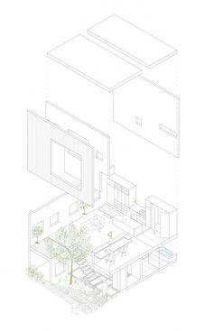 Frame / UID Architects #architecture #drawing