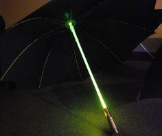 Star Wars Lightsaber Umbrella #tech #flow #gadget #gift #ideas #cool