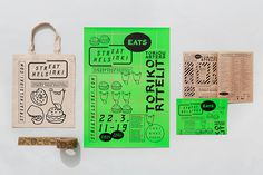 Tote bag, poster and guide design for Streat Helsinki by Kokomo & Moi