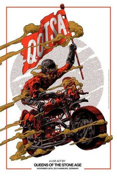 moto, Queens of the Stone Age poster