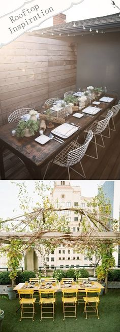 rooftop party | Mr #table