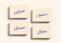 Les Bons Vivants — Branding