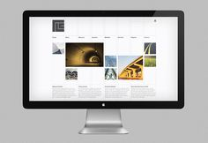 Matthew Hancock #digital #long #modernist #homepage #white #design #monochrome #logo #web #rlc #click #and #hancock #swiss #rossi #graphic #black #marque #website #the #matthew #minimal