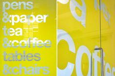 dn&co. | wells&more #signage #typography