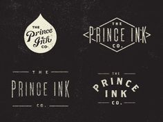 Prince Ink by Dustin Wallace #icon #logo #drop #ink