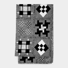 Patchwork Throw #quilt #pattern #moma