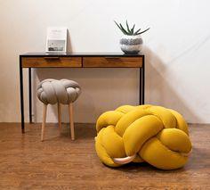 neta tesler draws #chair #knots #textile