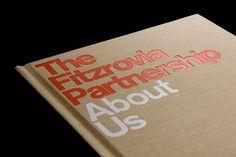 dn&co. | Fitzrovia #type #print #emboss #typography