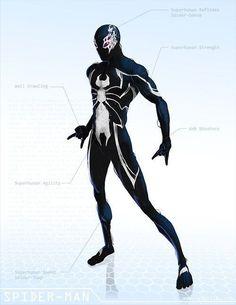 Spider Man Black   OG Marvel remix DB by ogi g