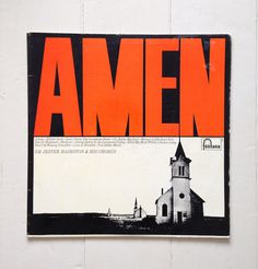 Large amen red 2 #brutalism