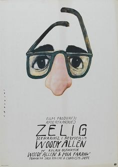 Zelig Movie Posters #movie #polish #allen #woody #sheet #minimal #poster #one #poland #zelig