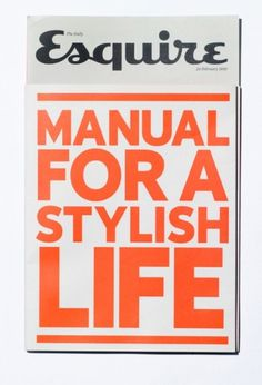 __ #esquire #typography