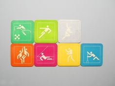 Otl Aicher 1972 Munich Olympics - Miscellaneous
