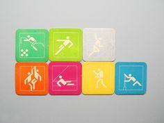 Otl Aicher 1972 Munich Olympics - Miscellaneous #otl #olympics #aicher