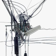 andrea gefeller the japan series #electro #cables