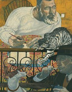 FFFFOUND! | sterling hundley illustration. Editorial Illustration BLUE COLLAR, White Collar #sterling #illustration #hundley