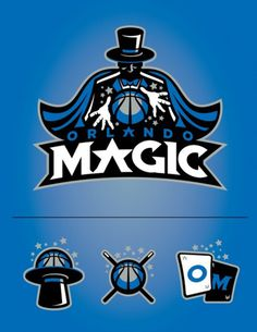 Rebranding & Expanding The NBA on the Behance Network #logo #orlando #magic