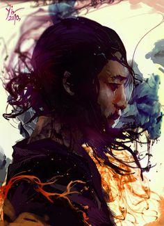 artsyrup:錢憶 語飄 {Wish you enjoy the show #profile #digital #illustration #art
