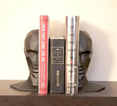 Knowledge in the Brain Bookends #tech #flow #gadget #gift #ideas #cool