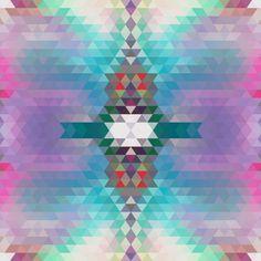 Pattern Collage - sallie harrison #quilt #pattern #geometric #pantone #wallpaper #patterns