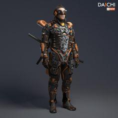 Daiichi WIP #ninja #3d