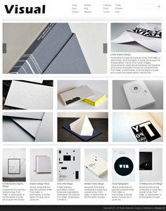 Visual Theme #print #design #illustration #art #typography #layout #book #fashion