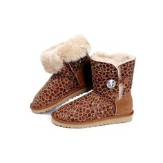 Ugg Women Bailey Button Bling Pattern 5803 Chestnut #women #button #bailey #ugg
