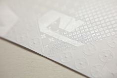 Louis Vuitton — Invitation Origami #emboss #print #texture